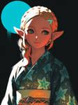 Yukata Zelda BotW(2)