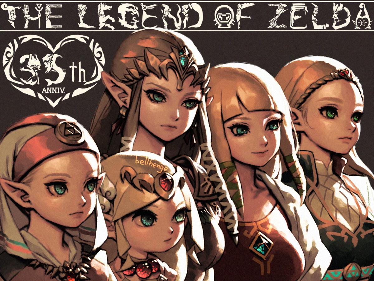 Five Zeldas