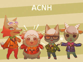 ACNH New Faces