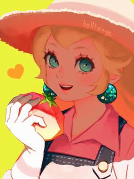 Overalls Peach