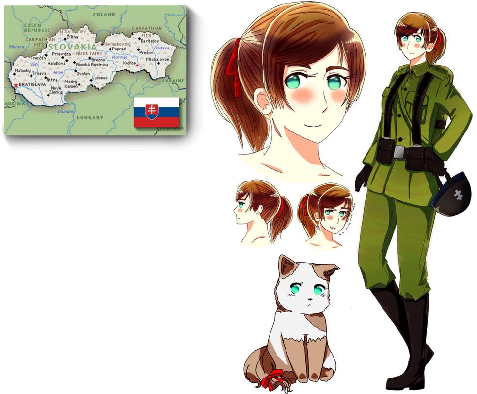 Wip Slovakia Bio Sheet Hetalia Oc By Westlywheatly On