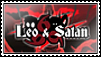 Leo And Satan Stamp by k12hanchi