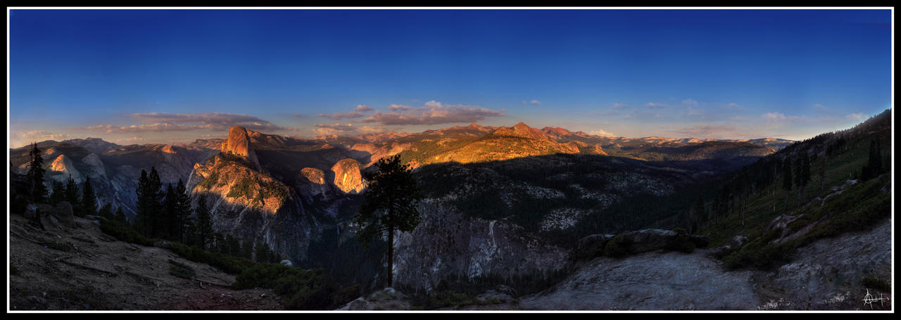 Sunstruck - Yosemite Valey II by fr1gidity