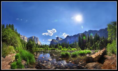 Serenity - Yosemite Valley III by fr1gidity