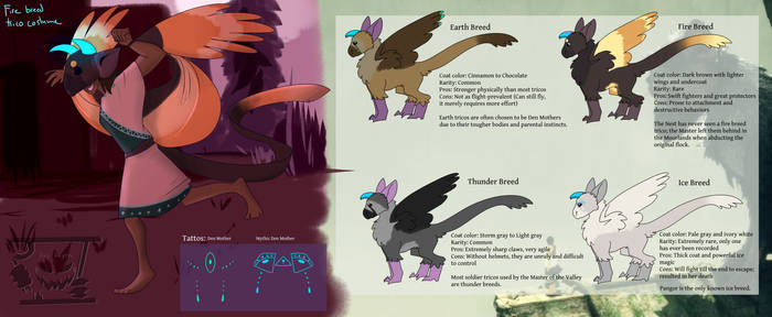 Trico Breed Studies