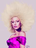 Lady Gaga 4 by DiamonikaDunsonArt