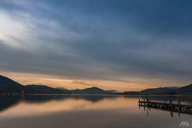 lake in winter II
