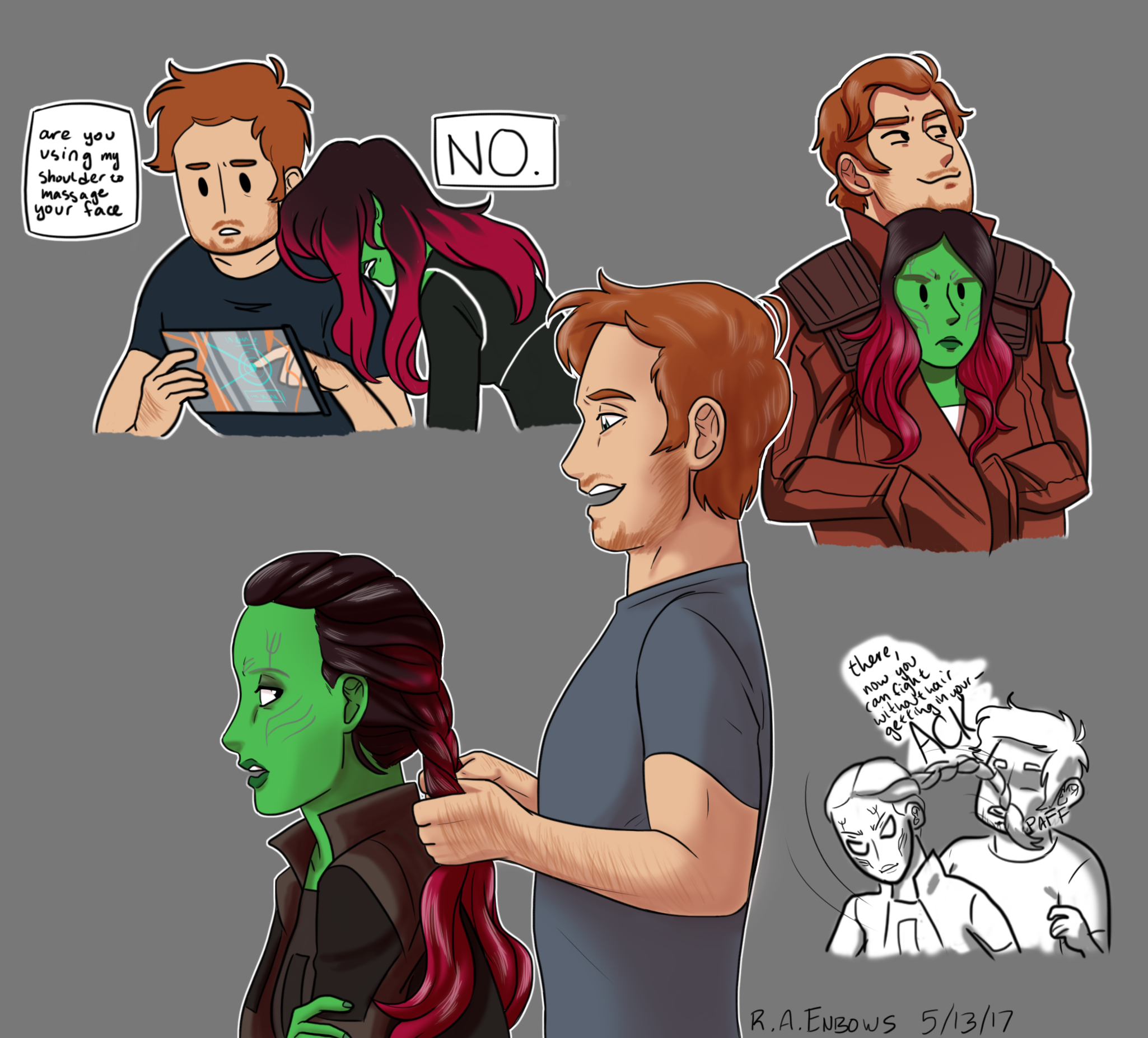 A Couple Of Space-dorks By R-A-Enbows On DeviantArt