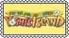 Yoshi's Island stamp by SugaryDonutz
