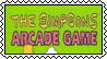 Simpsons Arcade stamp by SugaryDonutz