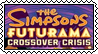 The Simpsons and Futurama Crossover Crisis stamp by SugaryDonutz