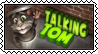 Talking Tom stamp by SheiksDWeirdo