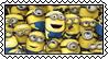 Minions stamp by SugaryDonutz