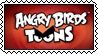 Angry Birds Toons stamp by SugaryDonutz