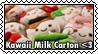 Kawaii Milk Carton Plush stamp by SugaryDonutz