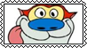 Stimpy fan stamp by SugaryDonutz