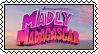 Madly Madagascar stamp by SugaryDonutz