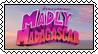 Madly Madagascar stamp by SugaryDonutz