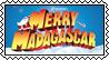 Merry Madagascar stamp by SugaryDonutz