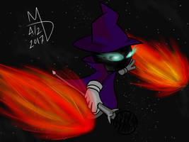 Space Mage by XmateusD