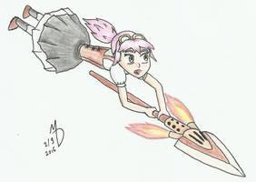 Steampunk Lancer by XmateusD