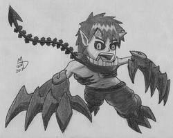 Oni fighter by XmateusD