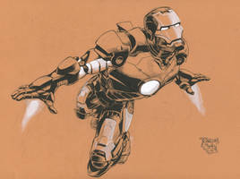 Iron Man by RansomGetty