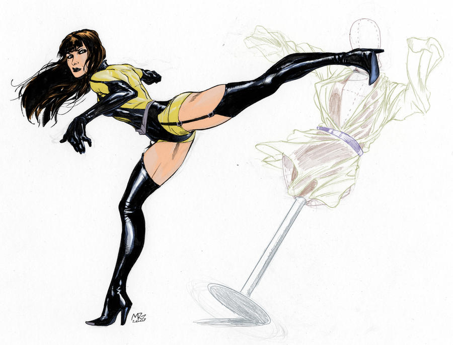 Silk Spectre by RansomGetty