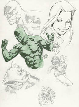 Sketches 9 Guardians