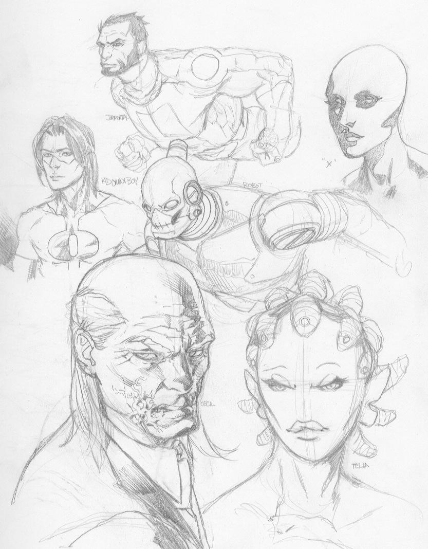 Sketches 10 by RansomGetty