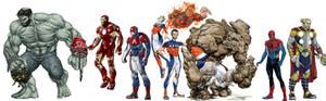 Marvel Redesigns WIP