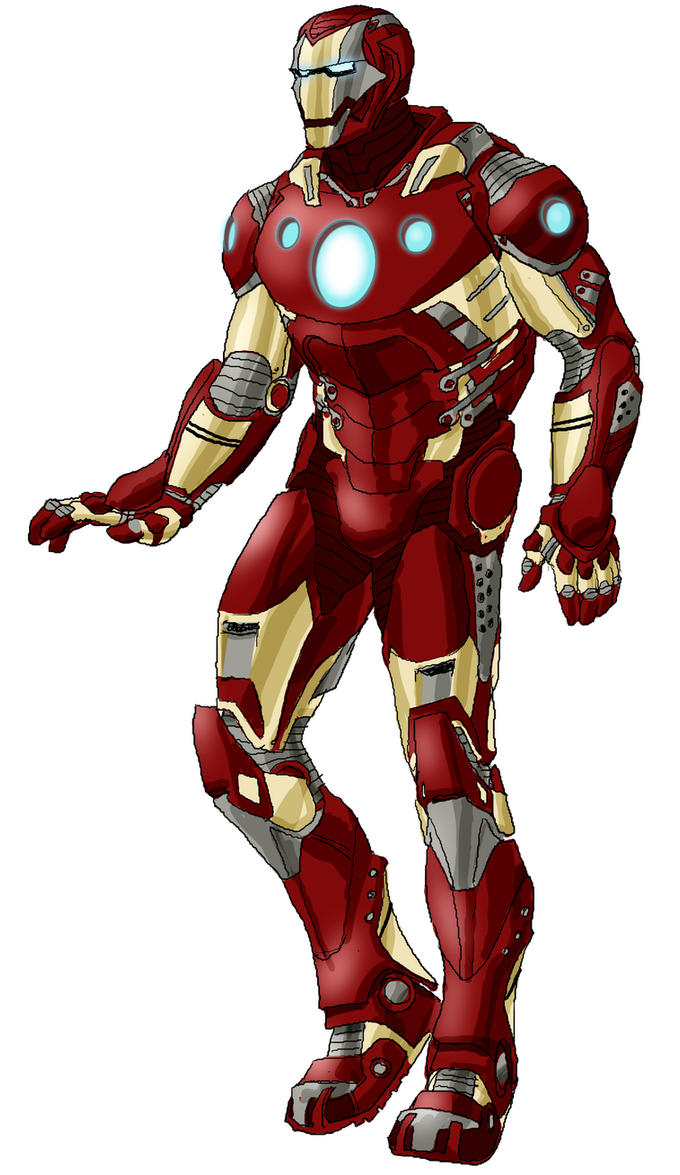 Iron Man Redesign by RansomGetty