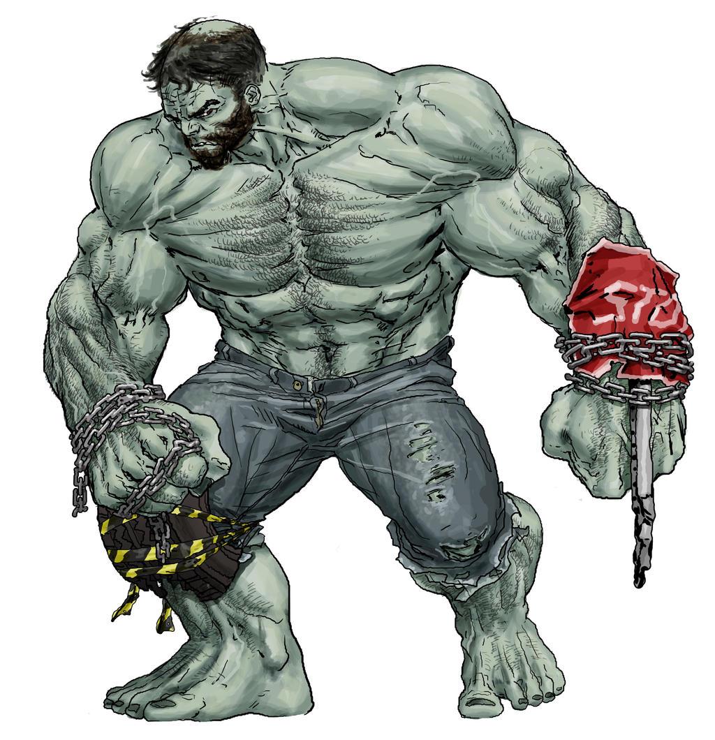 Hulk Redesign by RansomGetty
