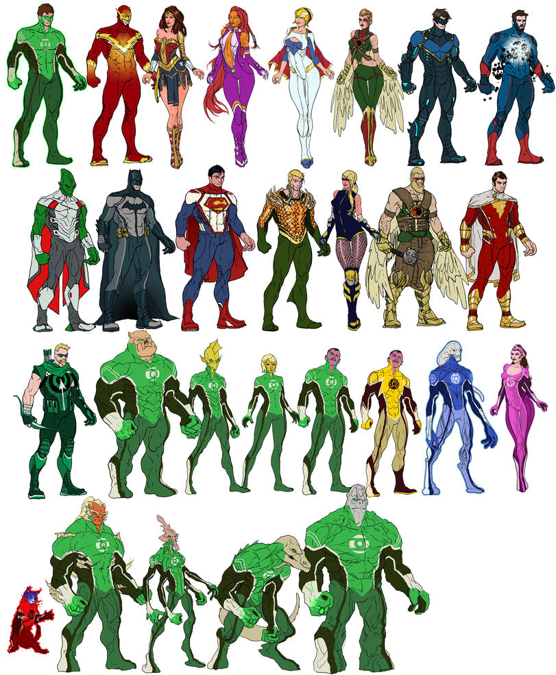 DC Redesigns by RansomGetty
