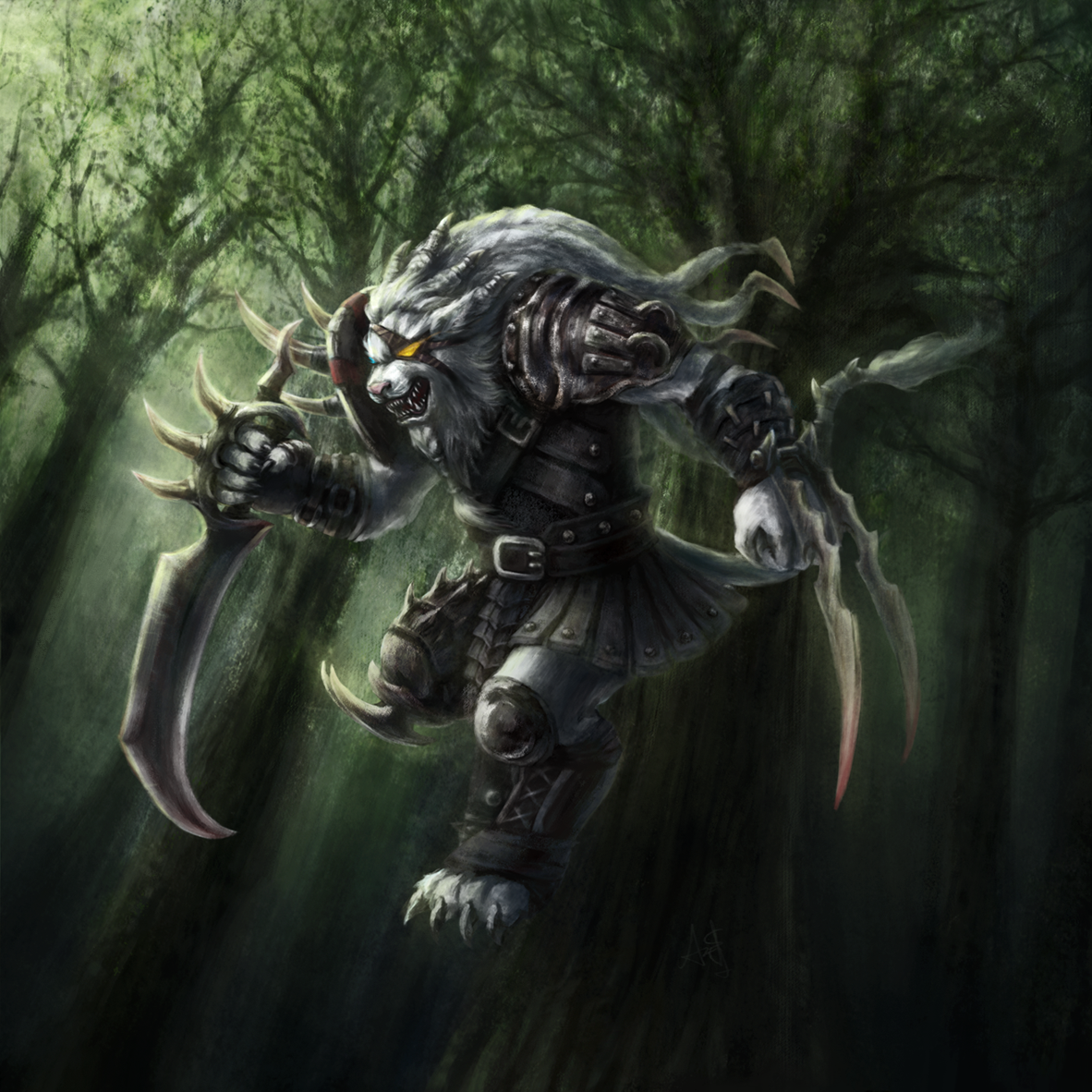 Path of the Pridestalker by Nepharus