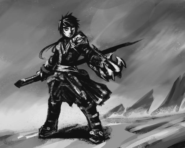 raven_weapon_taker_rough_sketch_by_nepha