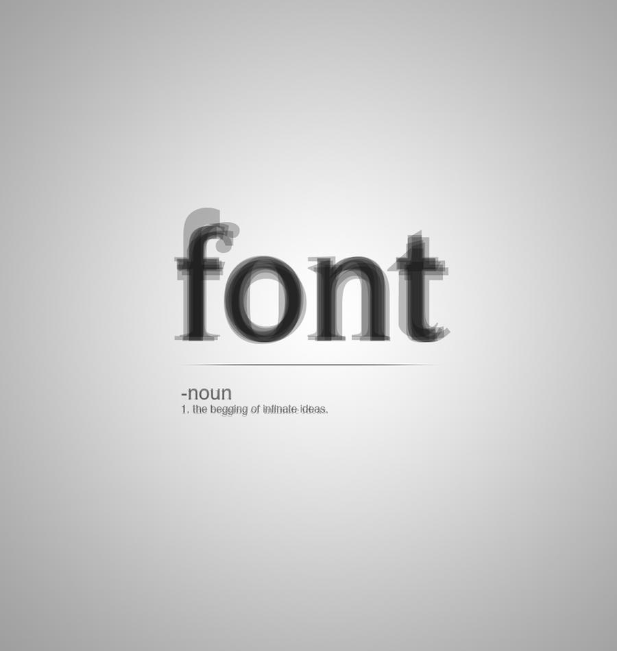 font by Oxida
