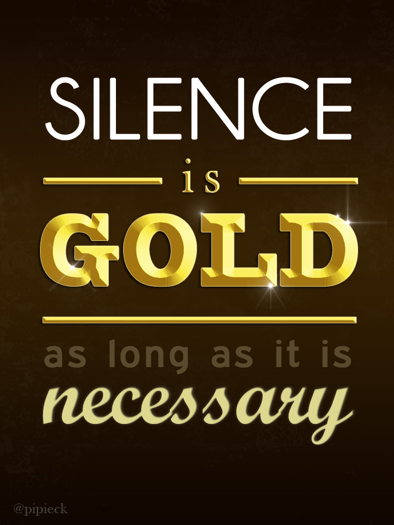 Is Silver Silence Is Golden Duct Tape