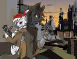 The Zebra Boomer and the Unicorn Gunslinger