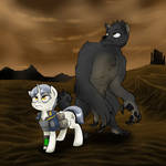 Sink pony and Beast