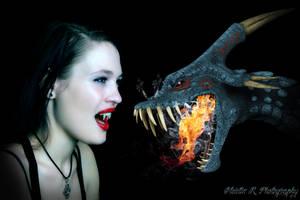 Vampire vs Dragon