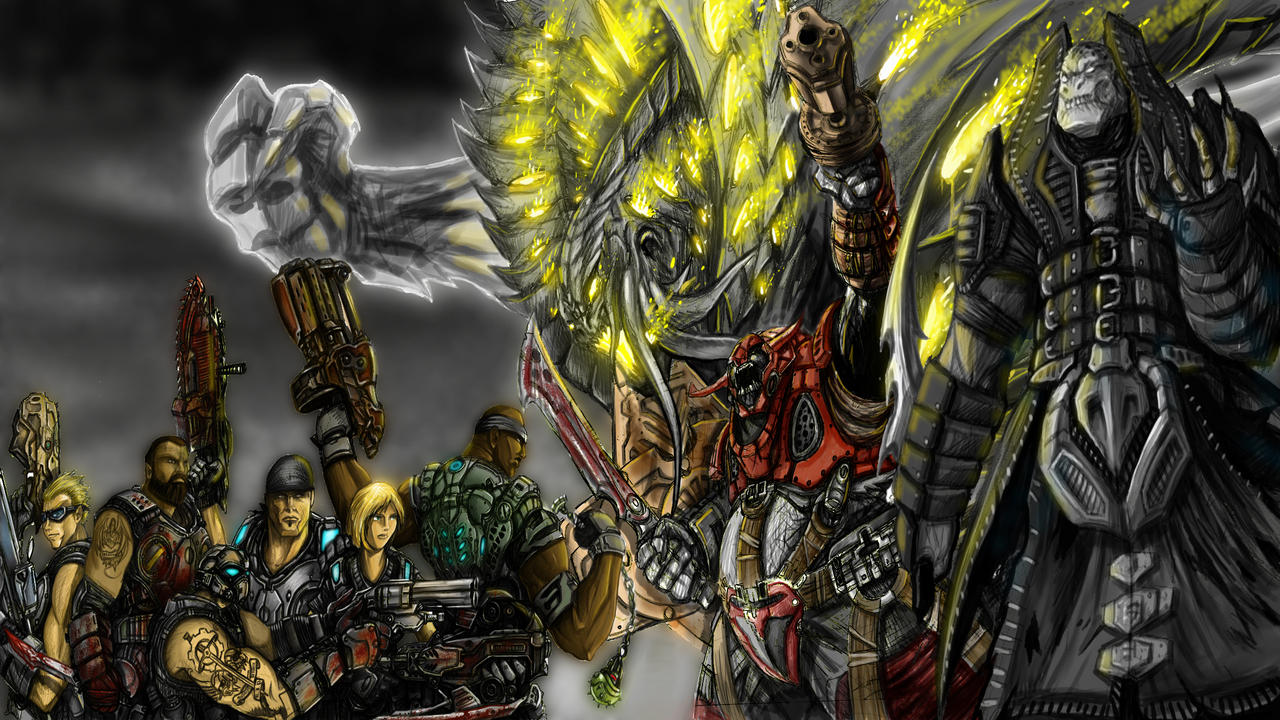 Gears of War 3 Entry 3 by Partin-Arts