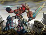 Transformers - Fall of Cybertron Fan Art