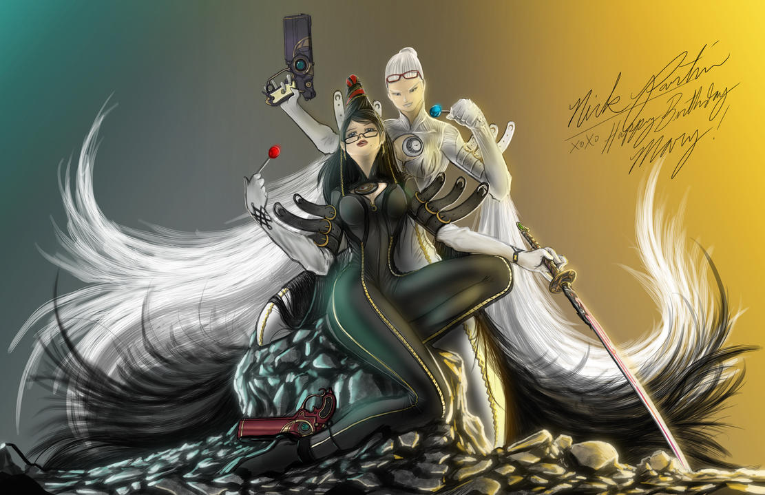 Bayonetta by Partin-Arts
