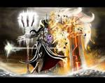 Diablo 3 - Barbarian and Sorceress