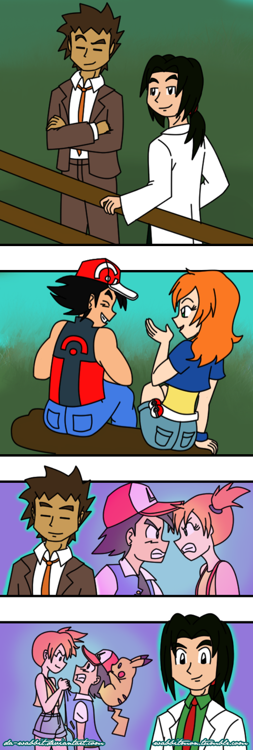 Pokeshipping Week 2016- Eyes of Others by Da-Wabbit