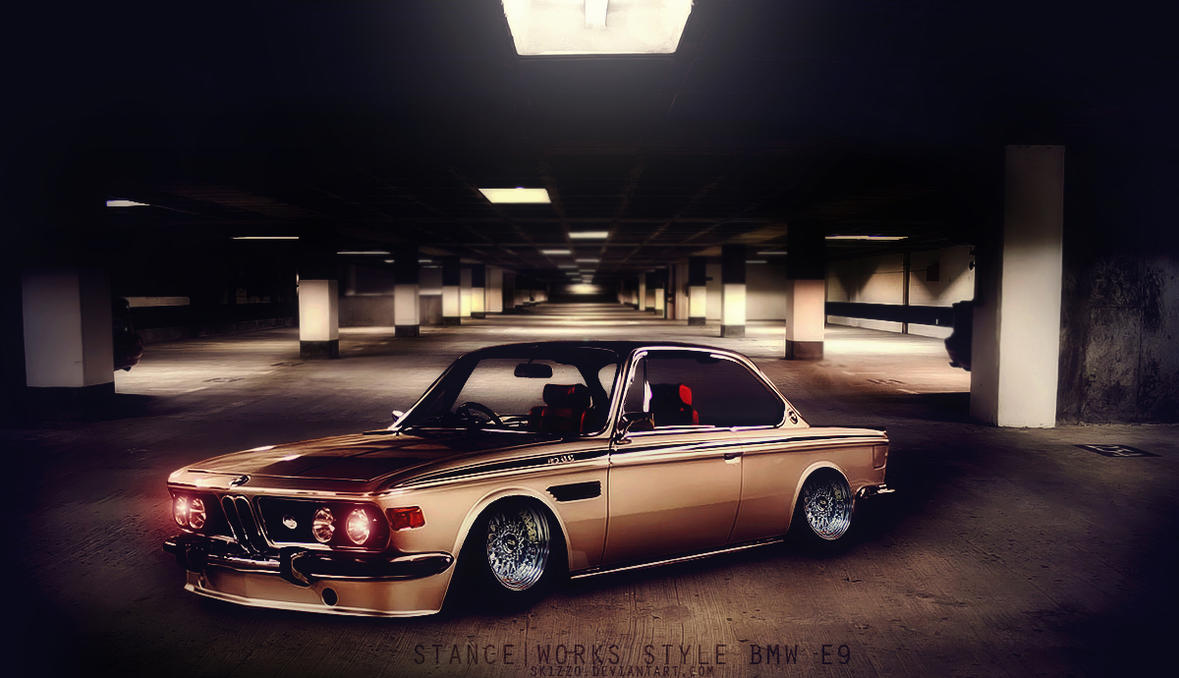 STANCE|WORK BMW E9 Style