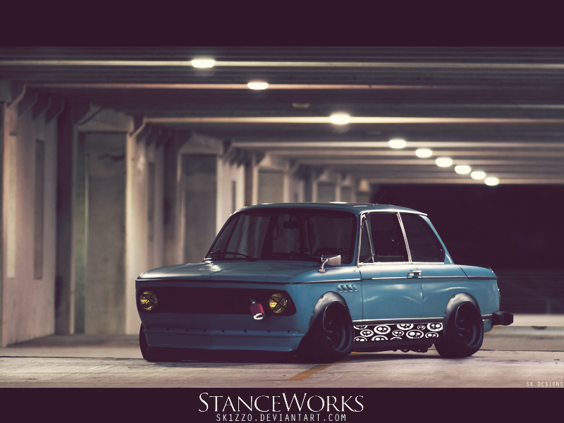 Stanced BMW 2002 Turbo by Sk1zzo on DeviantArt