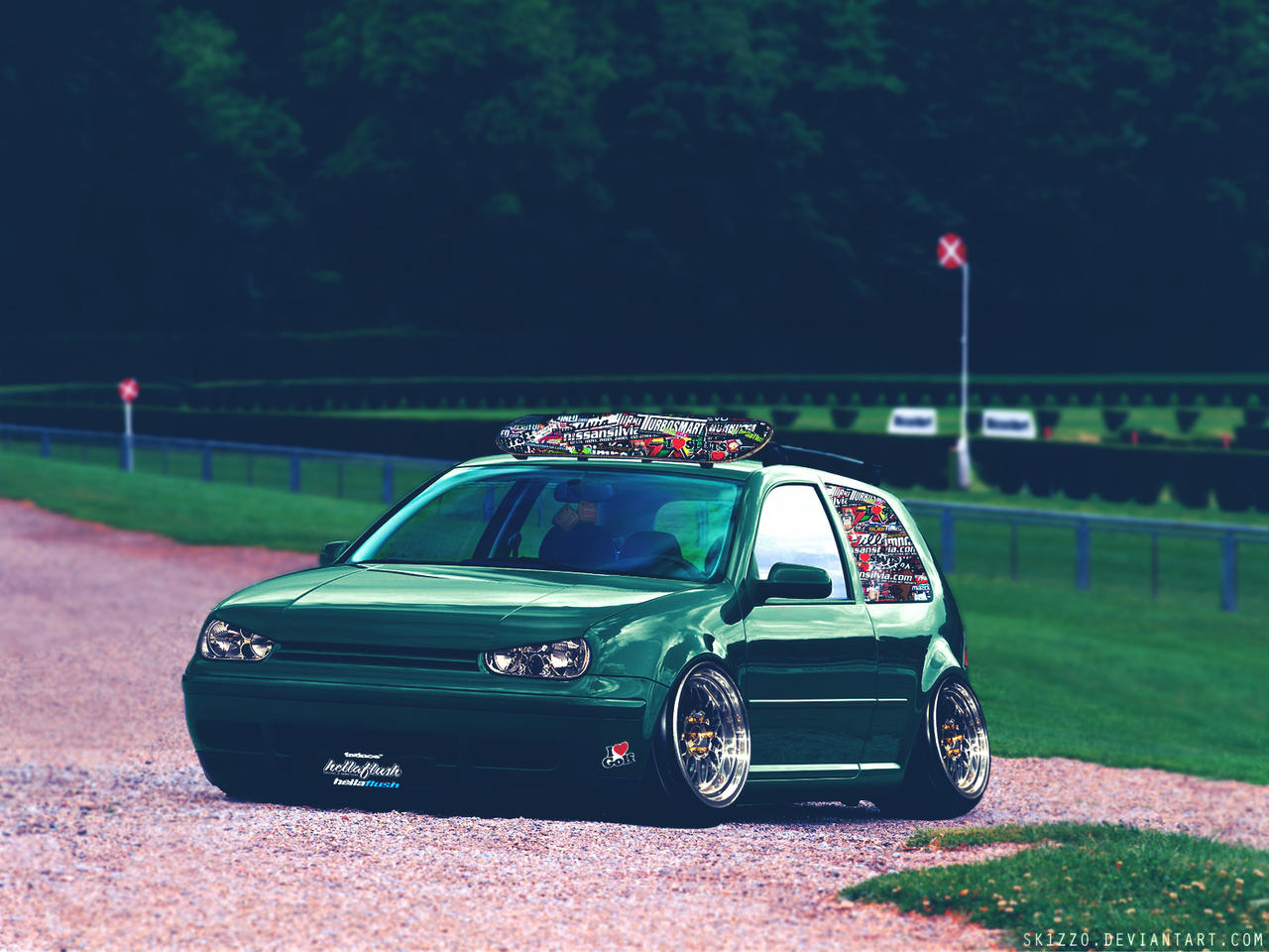 Hellaflush Vw Golf Iv By Sk1zzo On Deviantart