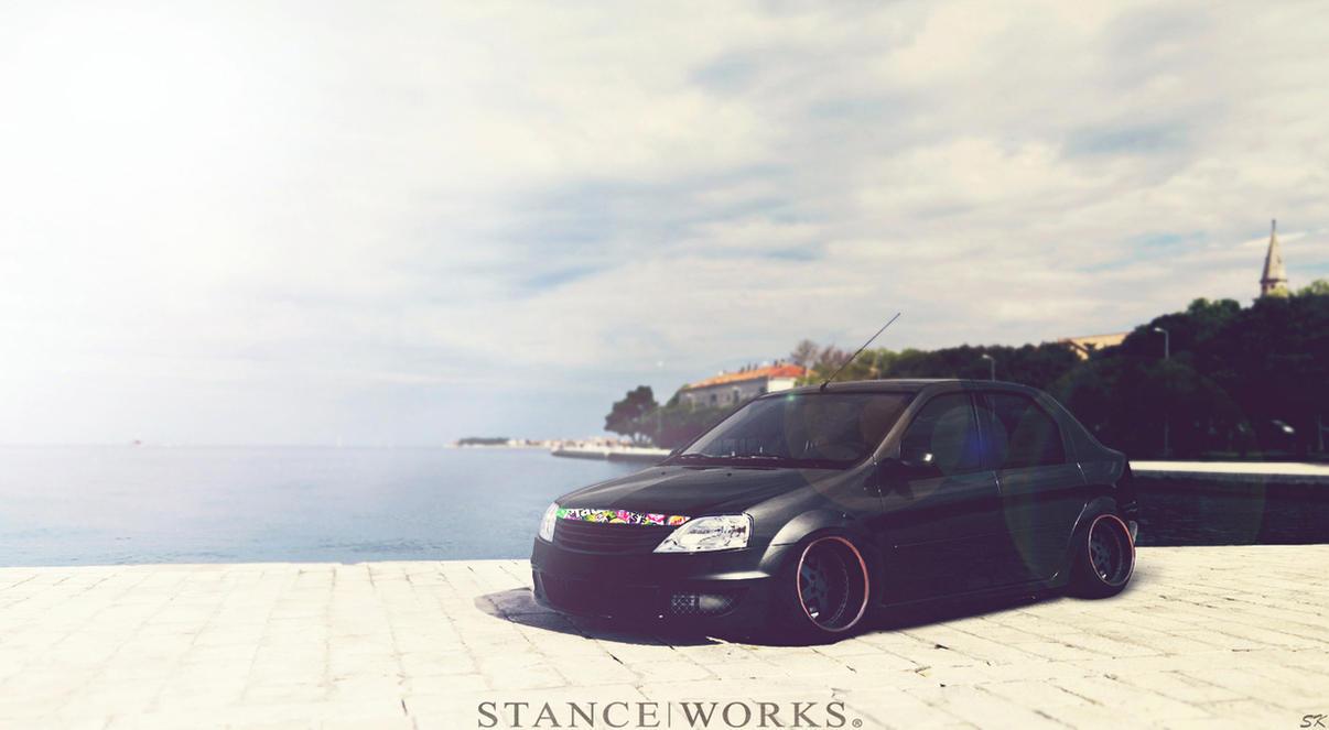 Dacia Logan Stanceworks By Sk1zzo On Deviantart